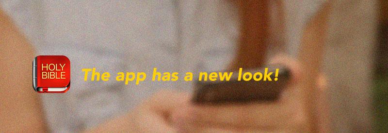 Bible Offline app has a new look!