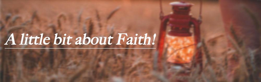 A little bit about Faith!