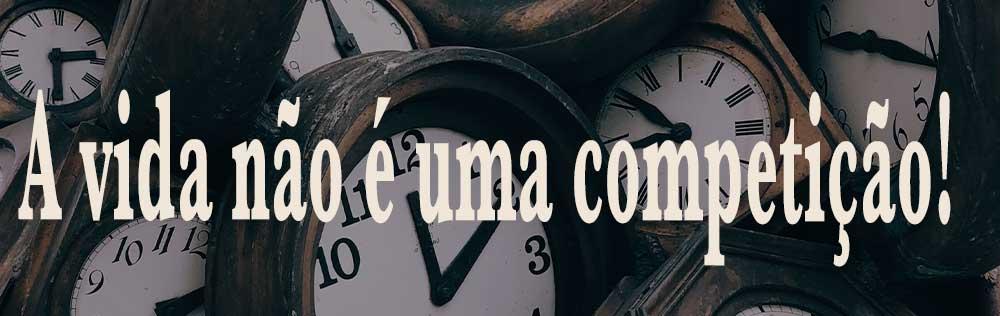 Não precisa viver com pressa, Deus tem um tempo para tudo