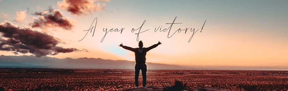 A year of victory!
