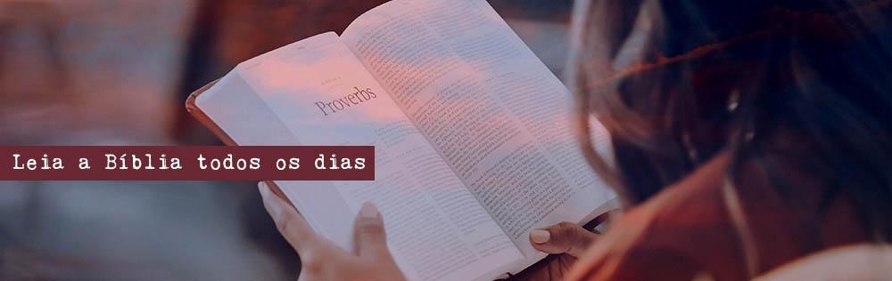 Leia a Bíblia todos os dias