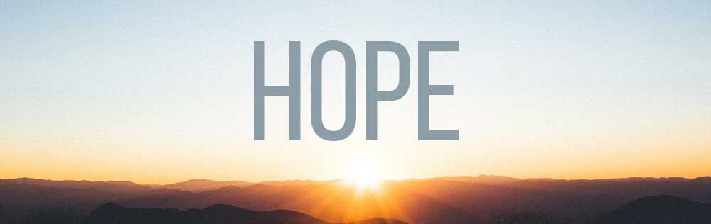 Hope, the art of waiting with faith!