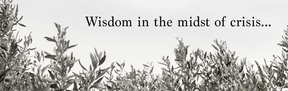Prayer: Wisdom in the midst of crisis